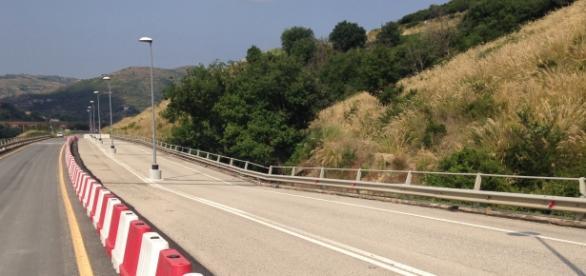 Il viadotto della sp 430 tra Agropoli e Prignano