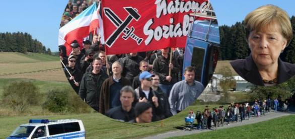 Imigranţii din Germania sunt atacaţi de neonazişti