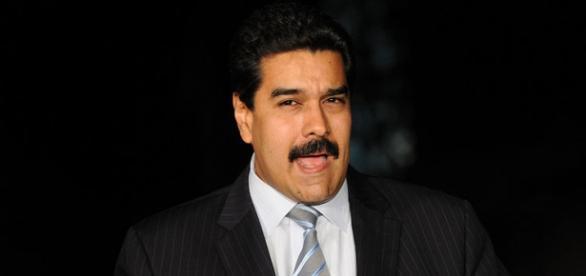 Maduro hablando durante un discurso