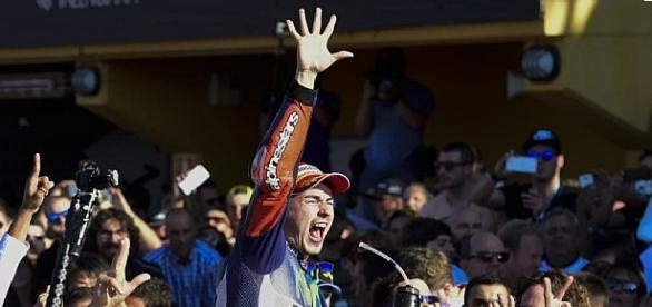 Se proclamó campeón del mundo de MotoGP