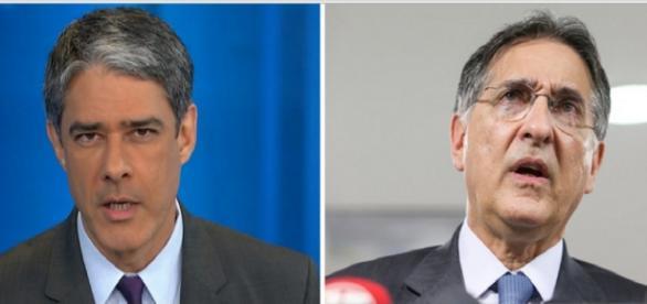 Bonner pede desculpas a governador de Minas