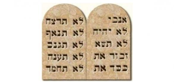 Os Dez Mandamentos não mostrou as leis de Deus