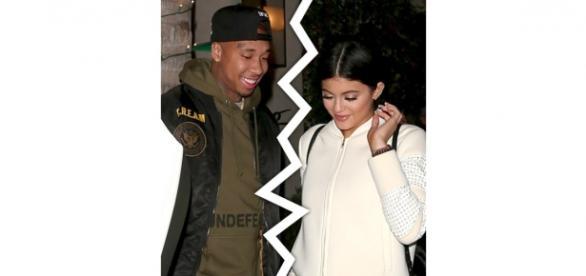 Tyga e Jenner terminam o romance