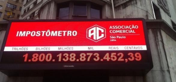 Brasileiro já pagou quase R$ 2 trilhões em 2015
