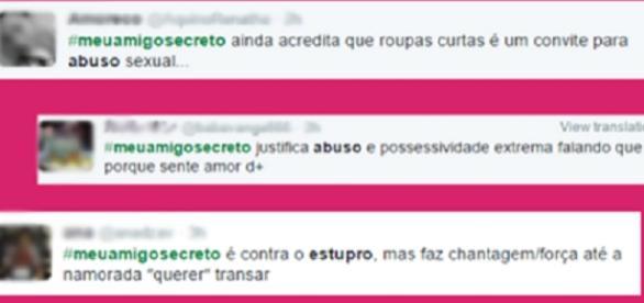 Campanha nas redes sociais: #meuamigosecreto