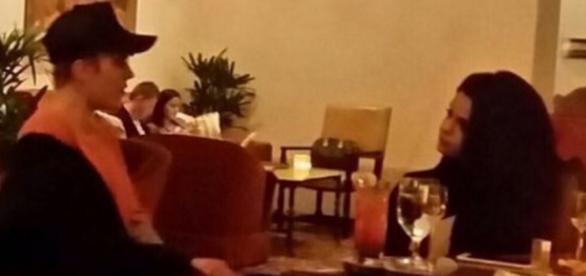 Justin Bieber und Selena Gomez.