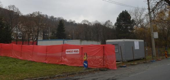 Şantierul aparţine Lukoil România