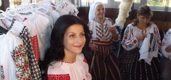 Iulia Martinescu şi ia sa unicat.