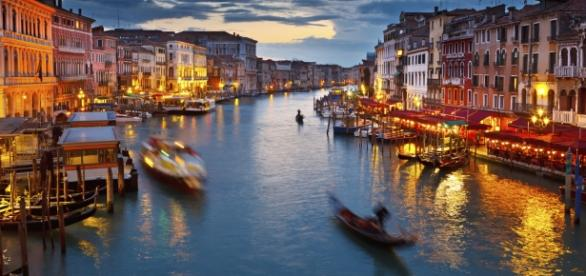 "Venice's Grand Canal, the main ""street"" of Venice"