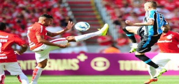 Inter demonstrou garra para bater o rival