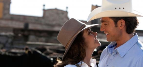 Lucero e Fernando Colunga em 'A Dona'