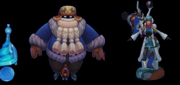 Nuevas skins de Invierno de League of Legends