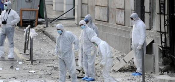 Explosão de bomba (Foto: Reuters/Reprodução)