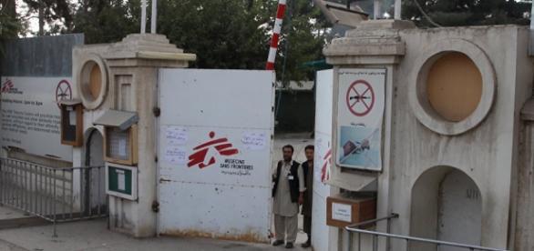 Hospital atacado em Kunduz, Afeganistão.