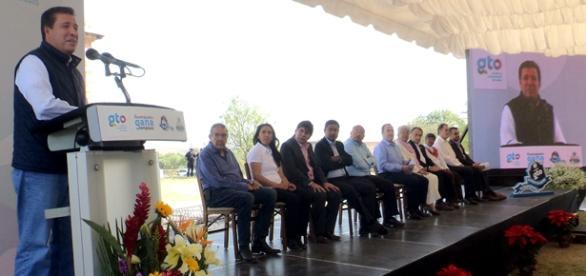 Miguel Márquez Márquez, gobernador de Guanajuato