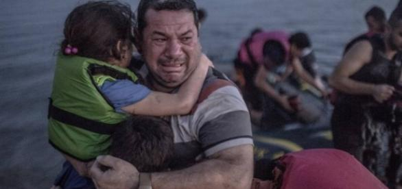 Nas fronteiras da Grécia, o desespero é grande.