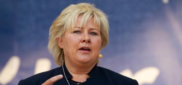 Erna Solberg, primeira-ministra da Noruega