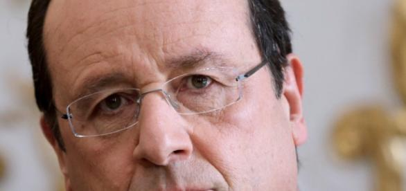 Il presidente francese Hollande
