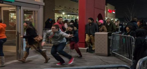 Surviving the Black Friday mobs and chaos.