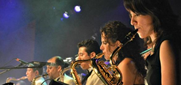 Big Band Jazz de México. Archivo, Mitzi Vera