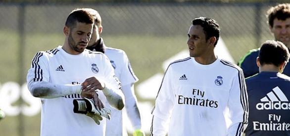 Casilla y Navas, los dos porteros del Real Madrid