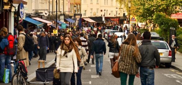 Portobello Road Market in London