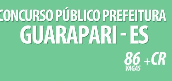 Prefeitura de Guarapari abre concurso público