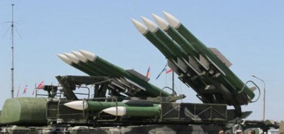 Sisteme de rachete rusesti, in Siria