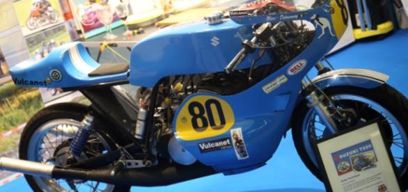 une moto du salon de la moto 2015