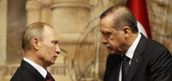 I prsidenti di Russia e Turchia