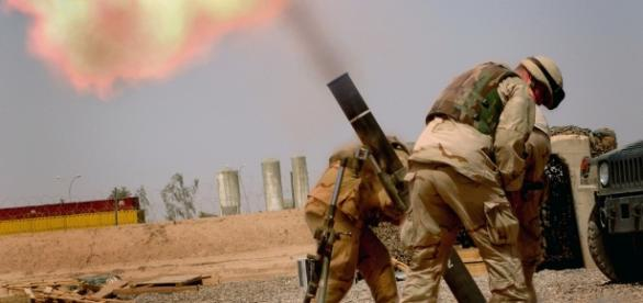 Jihadistas foram mortos por disparo de morteiro.