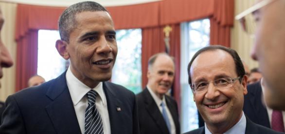 Obama y Hollande rinden homenaje a las víctimas