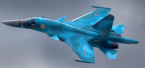 Caças russos estão destruindo alvos na Síria
