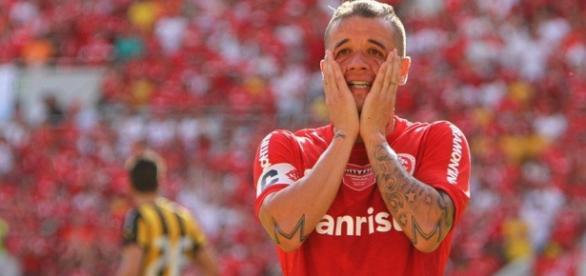 D' Alessandro é o jogador do Internacional.