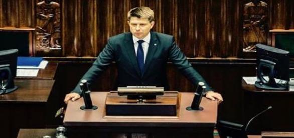 Ryszard Petru w Sejmie. /źródło facebook.com