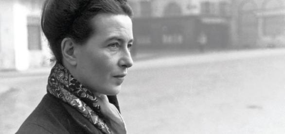 Escritora e filósofa Simone de Beauvoir