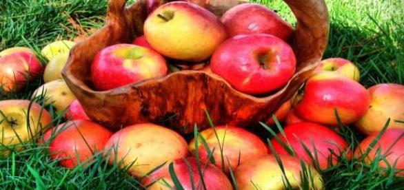 Le mele rosse sono consigliabili