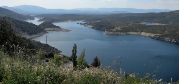 Pantano de El Atazar, el más grande de Madrid