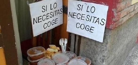 """restaurante Rochi: """"Si lo necesitas, coge"""""""