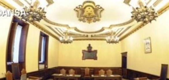 Aula nella quale si svolge il Processo Vatileaks 2