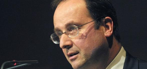 Il presidente francese Hollande.
