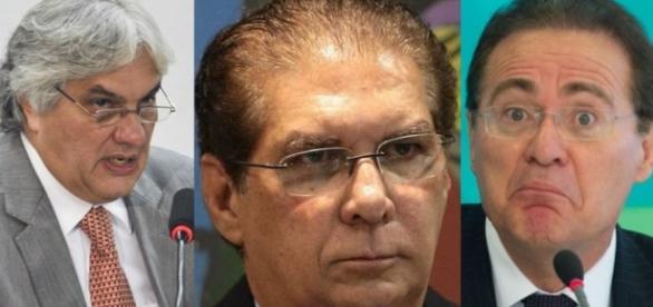 Senadores alvos do Ministério Publico.