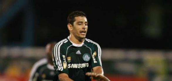 Diego Souza no Palmeiras em 2009