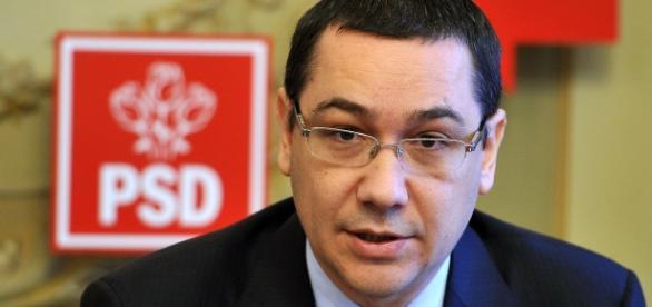 El ya ex primer ministro rumano Victor Ponta.