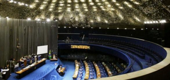 Plenário do Senado Federal, em Brasília