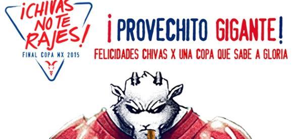 Chivas ganó Copa MX (imagen página oficia Chivas)