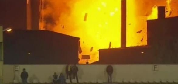 Explozie lângă stadionul din Brașov