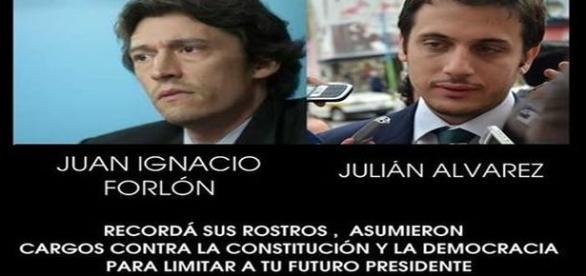 Juan Ignacio Forlon y Julián Alvarez