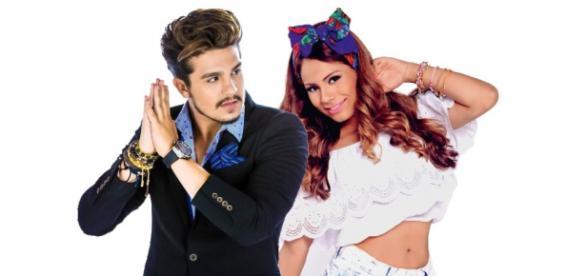 Luan Santana trai Jade Magalhães