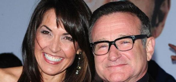 Robin Williams y su esposa Susan